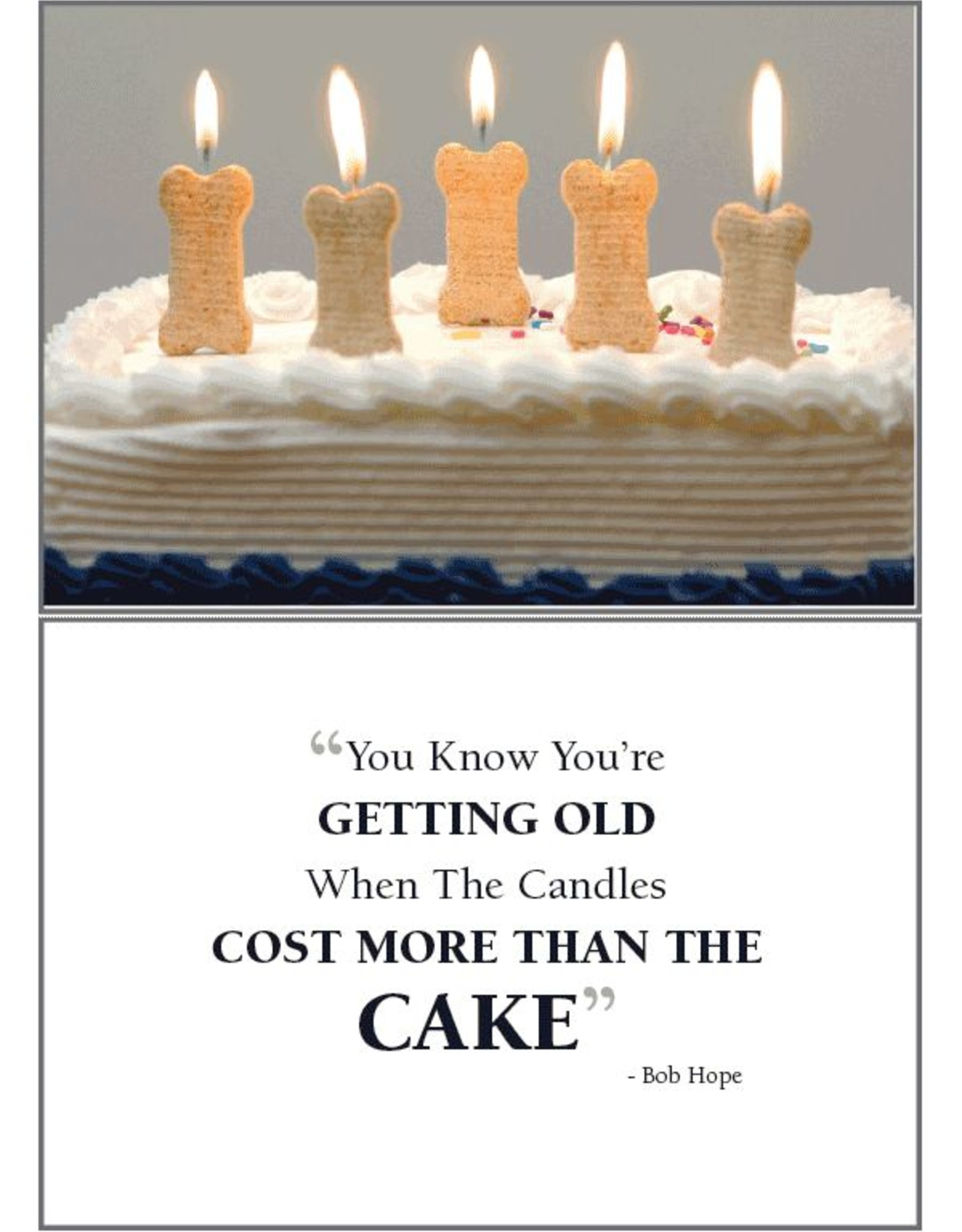 Dog Speak Dog Speak Card - Birthday - You Know You Are Getting Old...