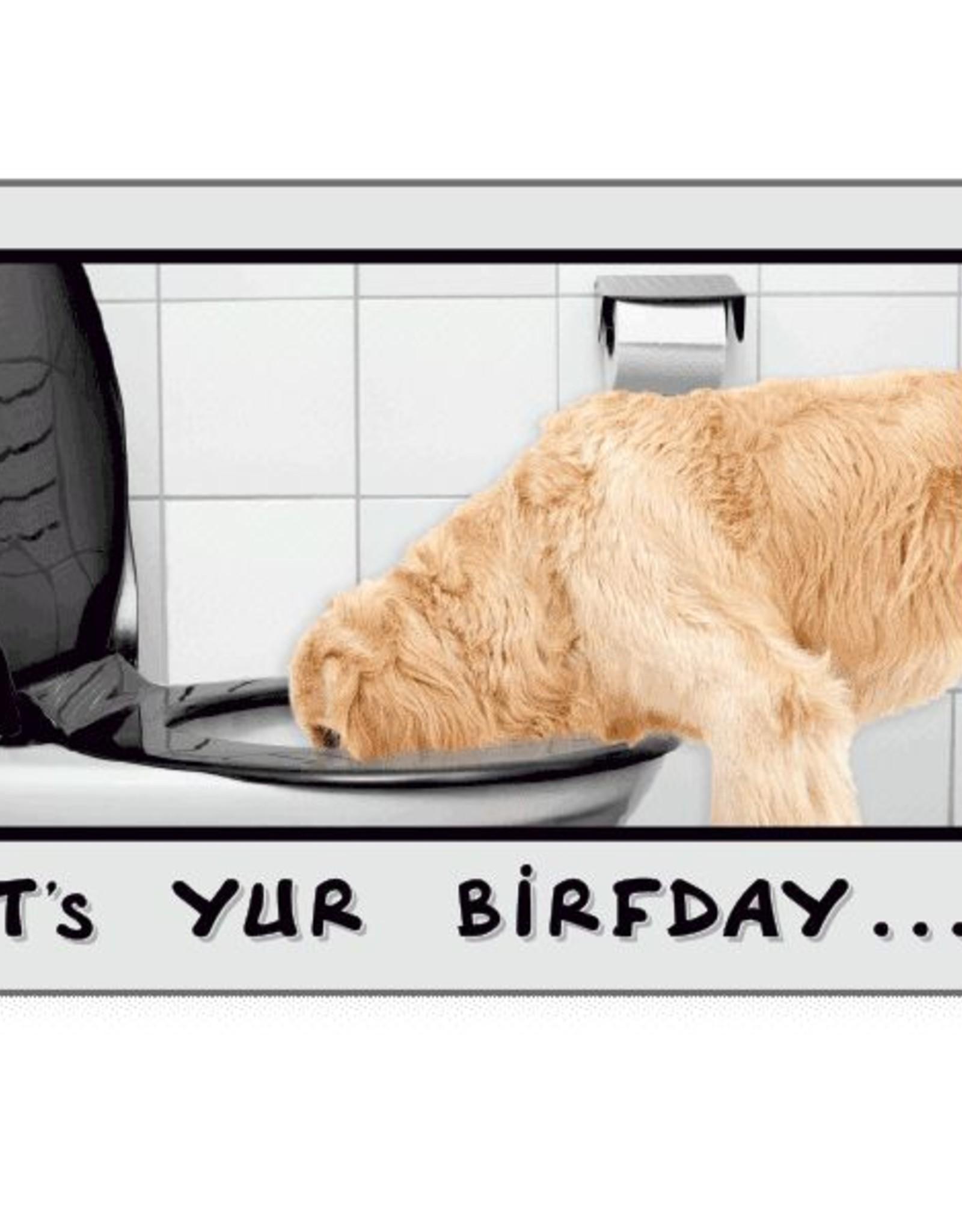 Dog Speak Dog Speak Card - Birthday - Drink Responsizibly