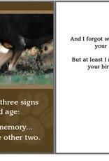 Dog Speak Dog Speak Card - Birthday - Buried Gift