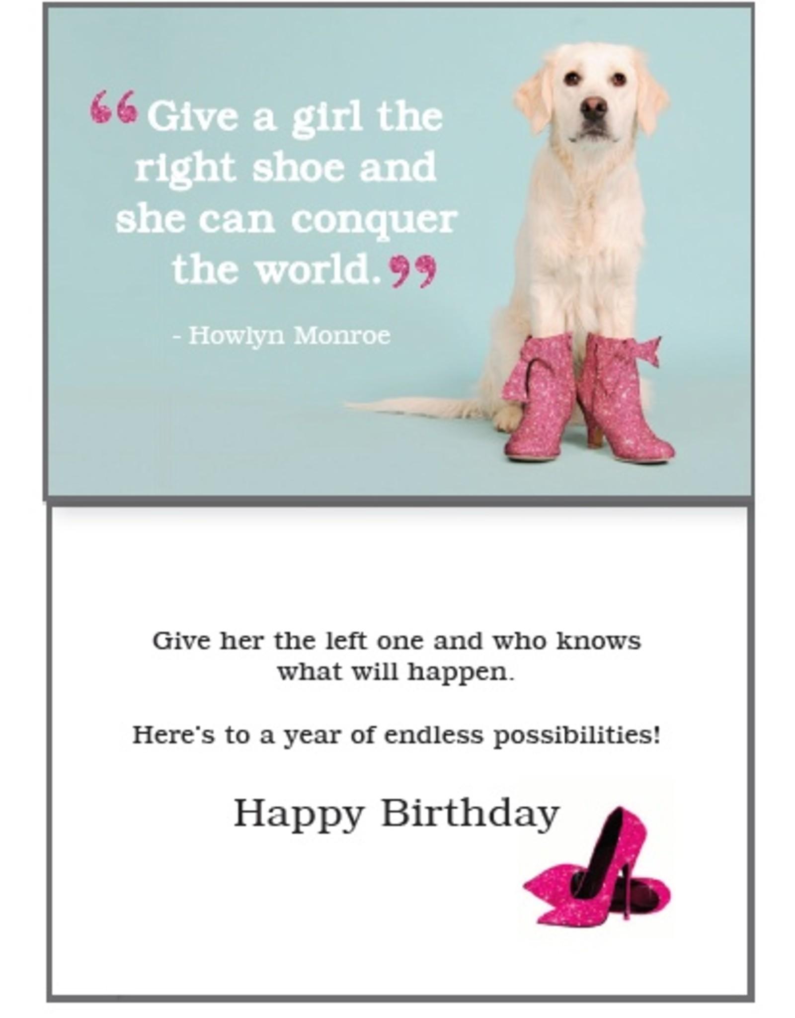 Dog Speak Dog Speak Card - Birthday - The Right Shoe