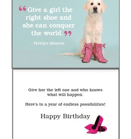 Dog Speak Dog Speak Card - Birthday - The Right Shoe