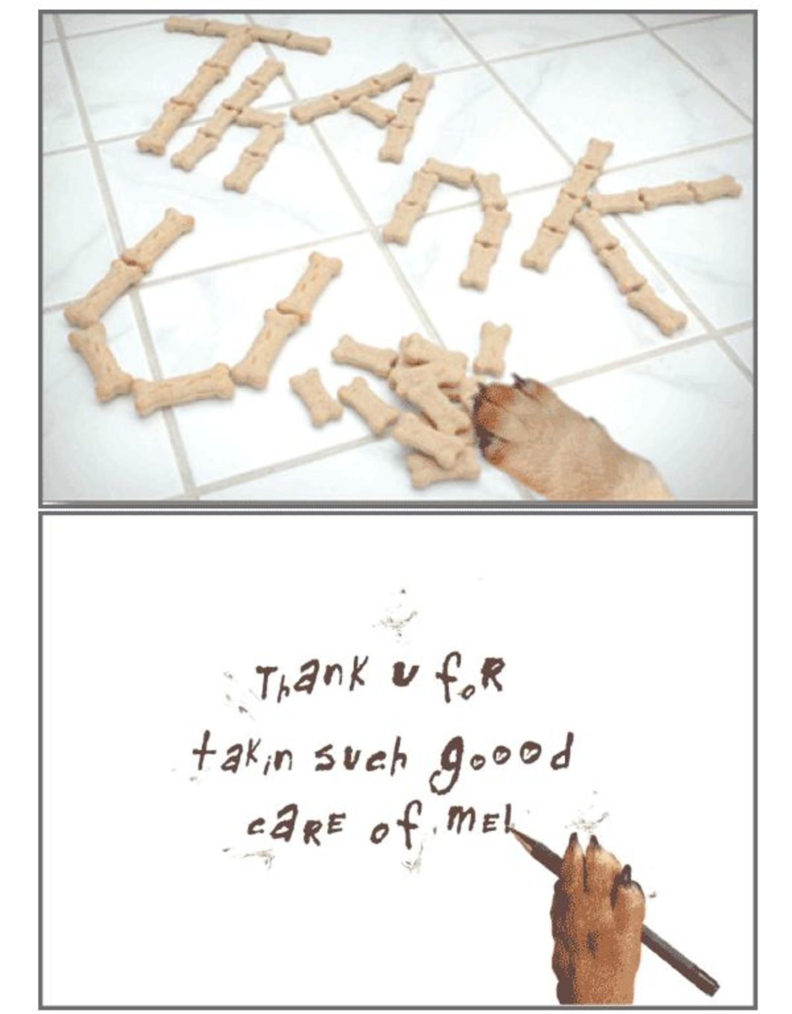 Dog Speak Dog Speak Card - Pet Sitter - Thank U