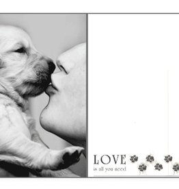 Dog Speak Dog Speak Card - Love - Love Is All You Need