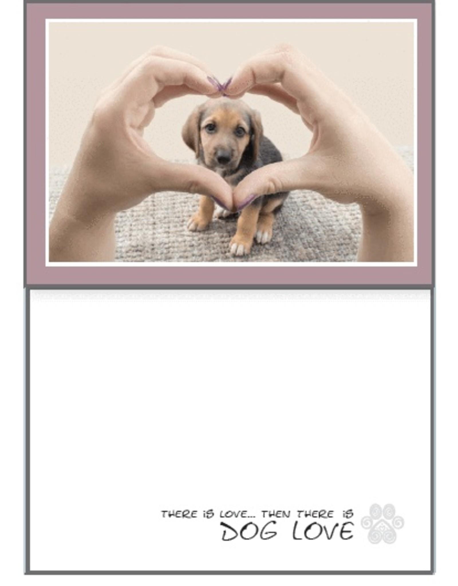 Dog Speak Dog Speak Card - Love - There is Love