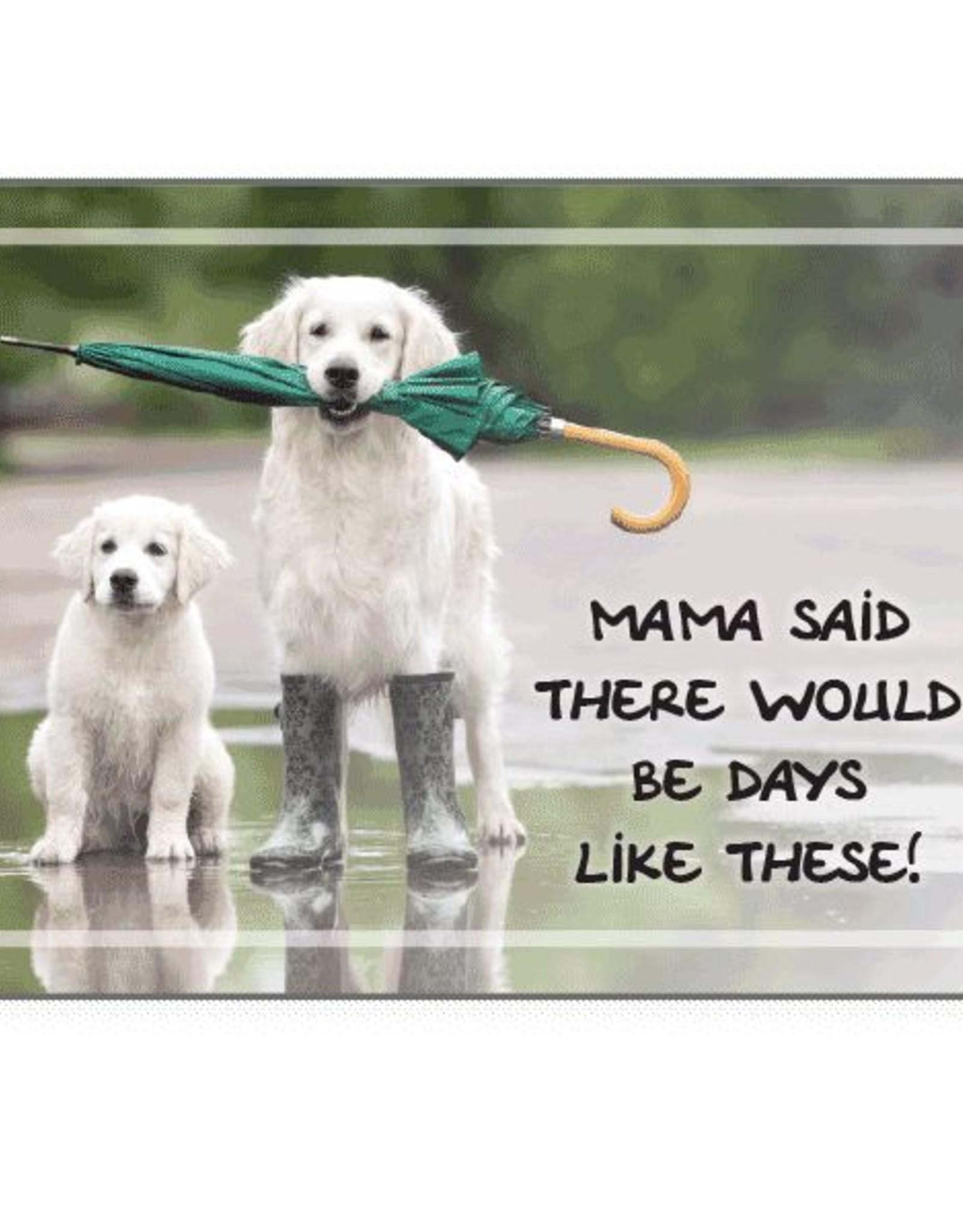 Dog Speak Dog Speak Card - Cope -Mama Said There Would Be Days Like These