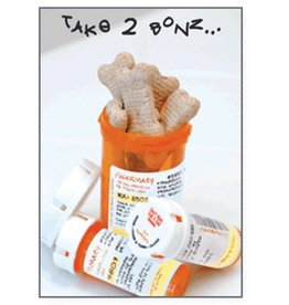 Dog Speak Dog Speak Card - Get Well - Take Two Bones