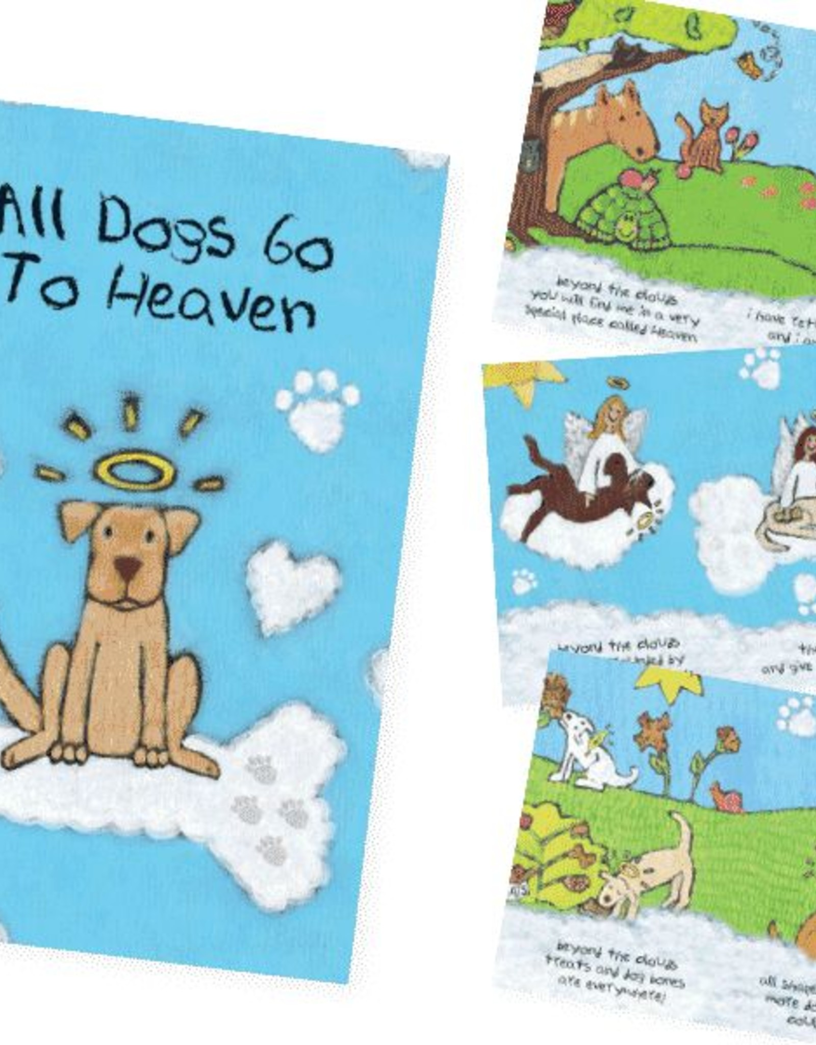 Dog Speak Dog Speak Card - Sympathy - All Dogs Go To Heaven Booklet