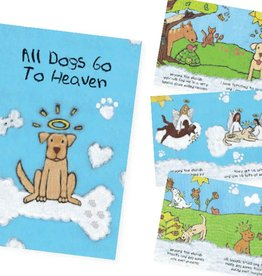Dog Speak Dog Speak Card - Sympathy - All Dog Go To Heaven Booklet