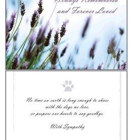 Dog Speak Dog Speak Card - Sympathy - Always Remembered