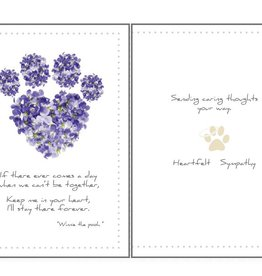 Dog Speak Dog Speak Card - Sympathy - If There Ever Comes a Day