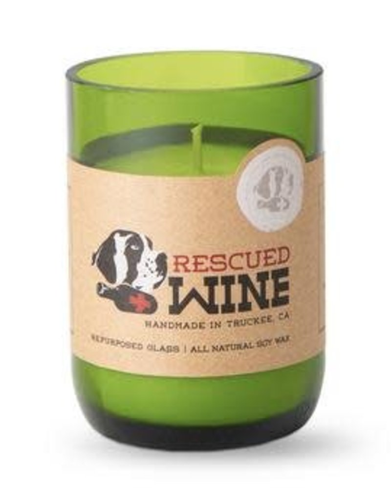 Rescued  Wine Candles Rescued Wine Candle Chardonnay