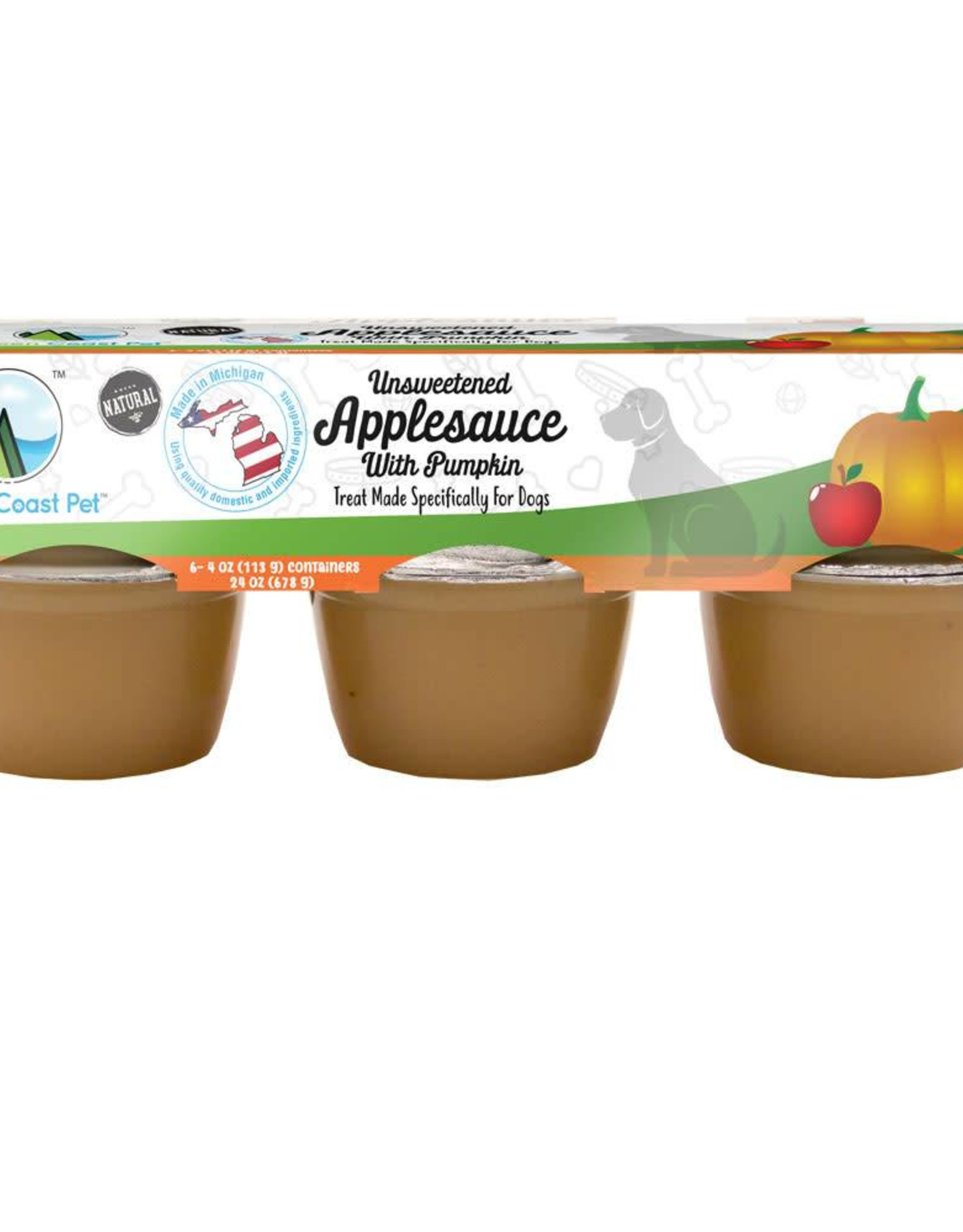 Green Coast Pet Green Coastal Pet Applesauce with Pumpkin 6pk