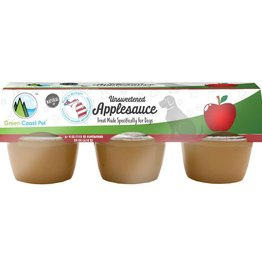 Green Coast Pet Green Coast Pet Unsweetened Applesauce 6pk