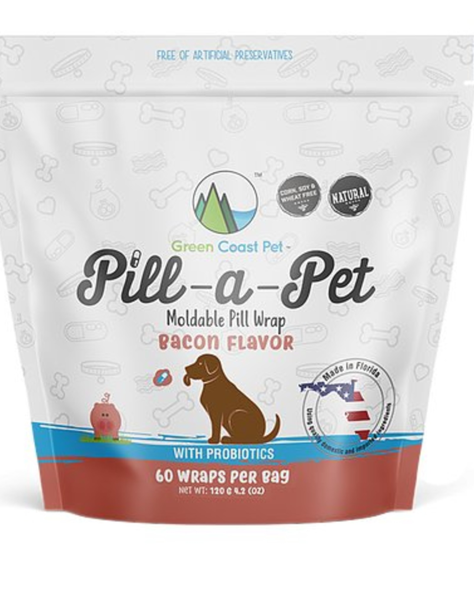Green Coast Pet Green Coast Pet Pill A Pet 60 Servings