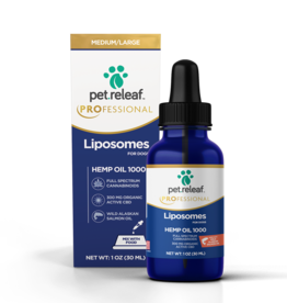 Pet Releaf Pet Releaf CBD Liposome Hemp Oil 1000 (300mg Active CBD)