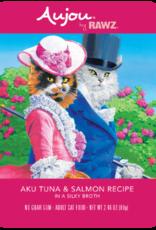Rawz Rawz Cat AuJou Shredded Tuna & Salmon 2.46oz Pouch