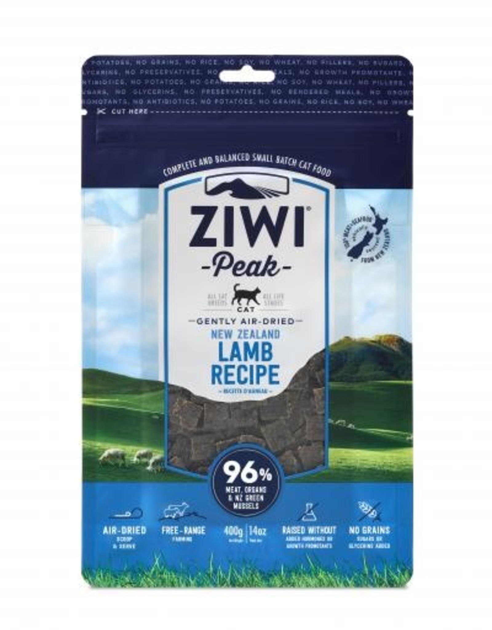 ZiwiPeak ZiwiPeak Air-Dried Lamb for Cats