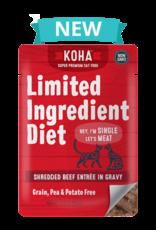 Koha SALE - Koha Limited Ingredient Shredded Beef for Cats