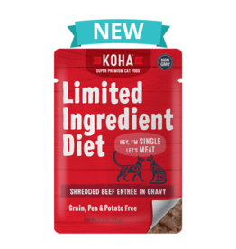 Koha Koha Limited Ingredient Shredded Beef for Cats
