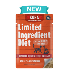 Koha Koha Limited Ingredient Shredded Chicken for Cats