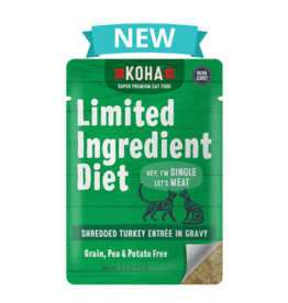 Koha Koha Limited Ingredient Shredded Turkey for Cats