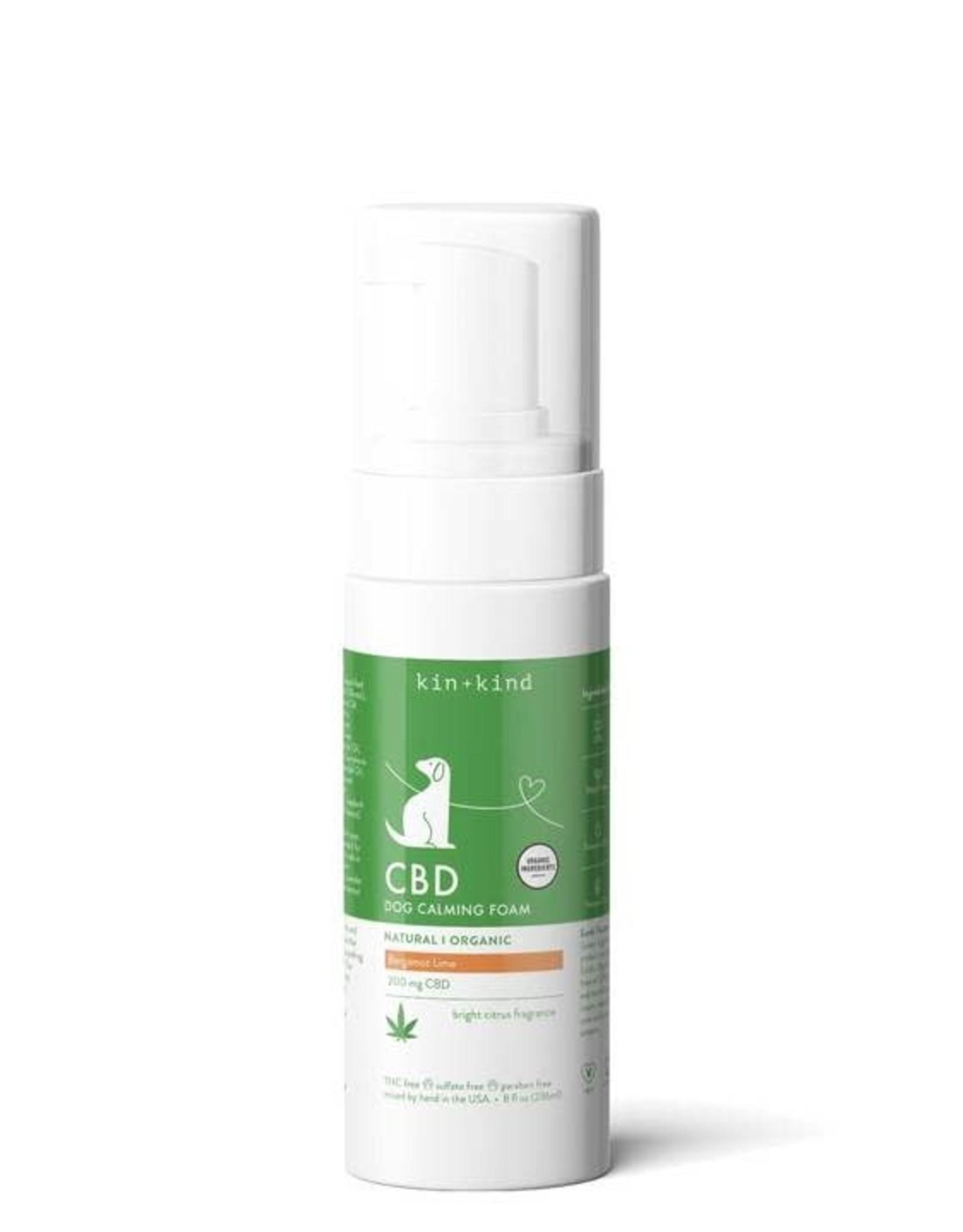 Kin+Kind Kin+Kind CBD Calming Foam - Bergamot Lime