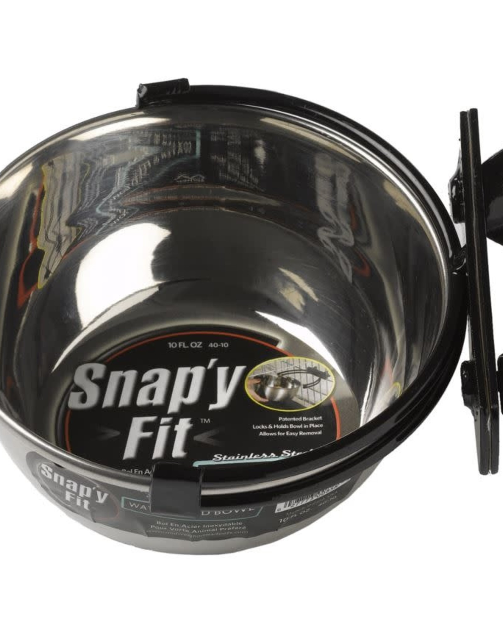 MidWest Homes for Pets Midwest Snap'y Fit Water & Food Bowl