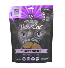 Vital Essentials Vital Essentials Cat Freeze-Dried Turkey Mini Patties 8oz