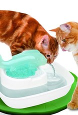 Cat's Rule Watering Hole Fish Fountain