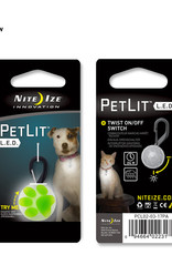 NiteIze NiteIze PetLit Lime Paw Light