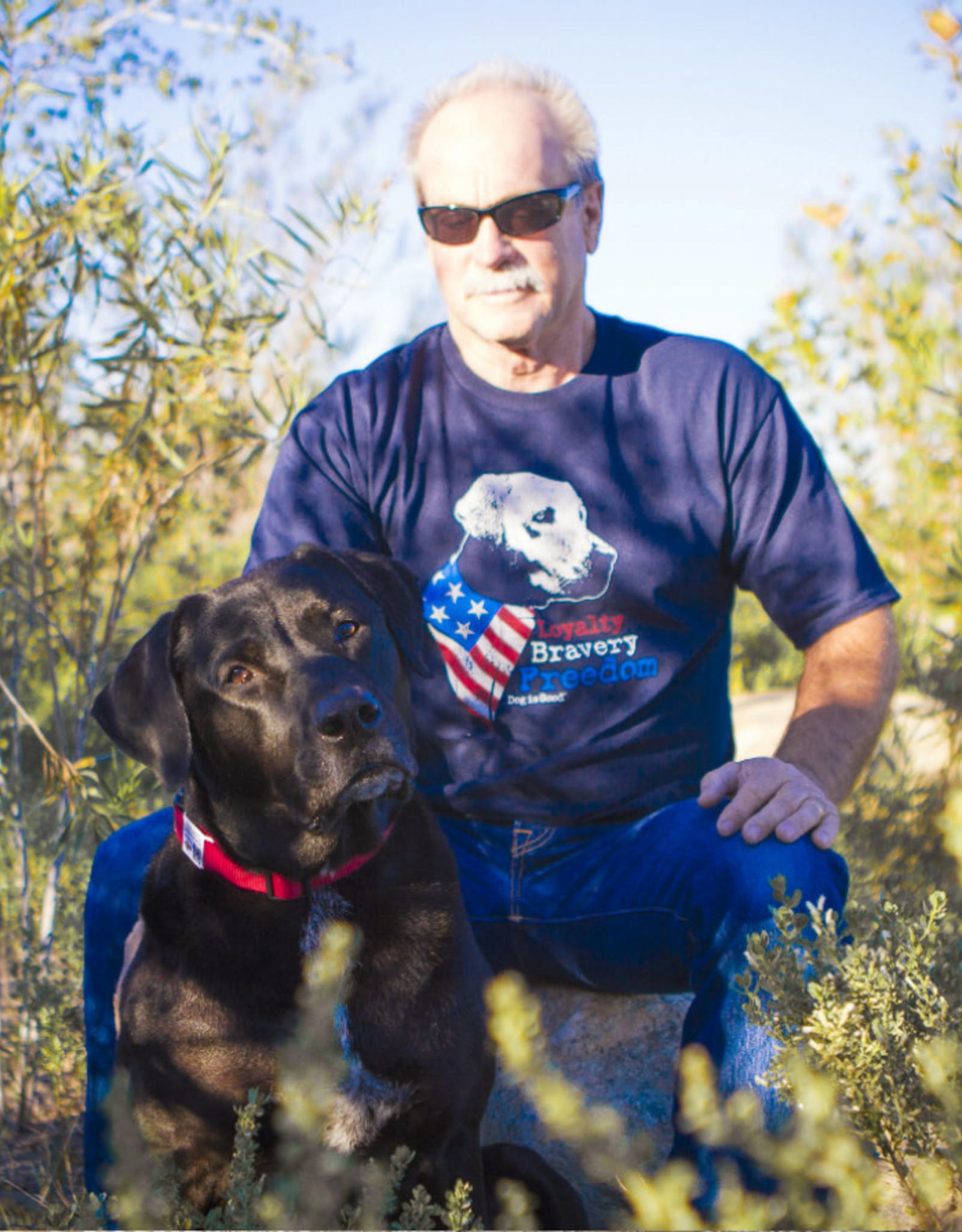 Dog Is Good Dog Is Good Freedom Dog T-Shirt Unisex