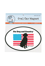 Dog Is Good Car Magnet: For Dog and Country