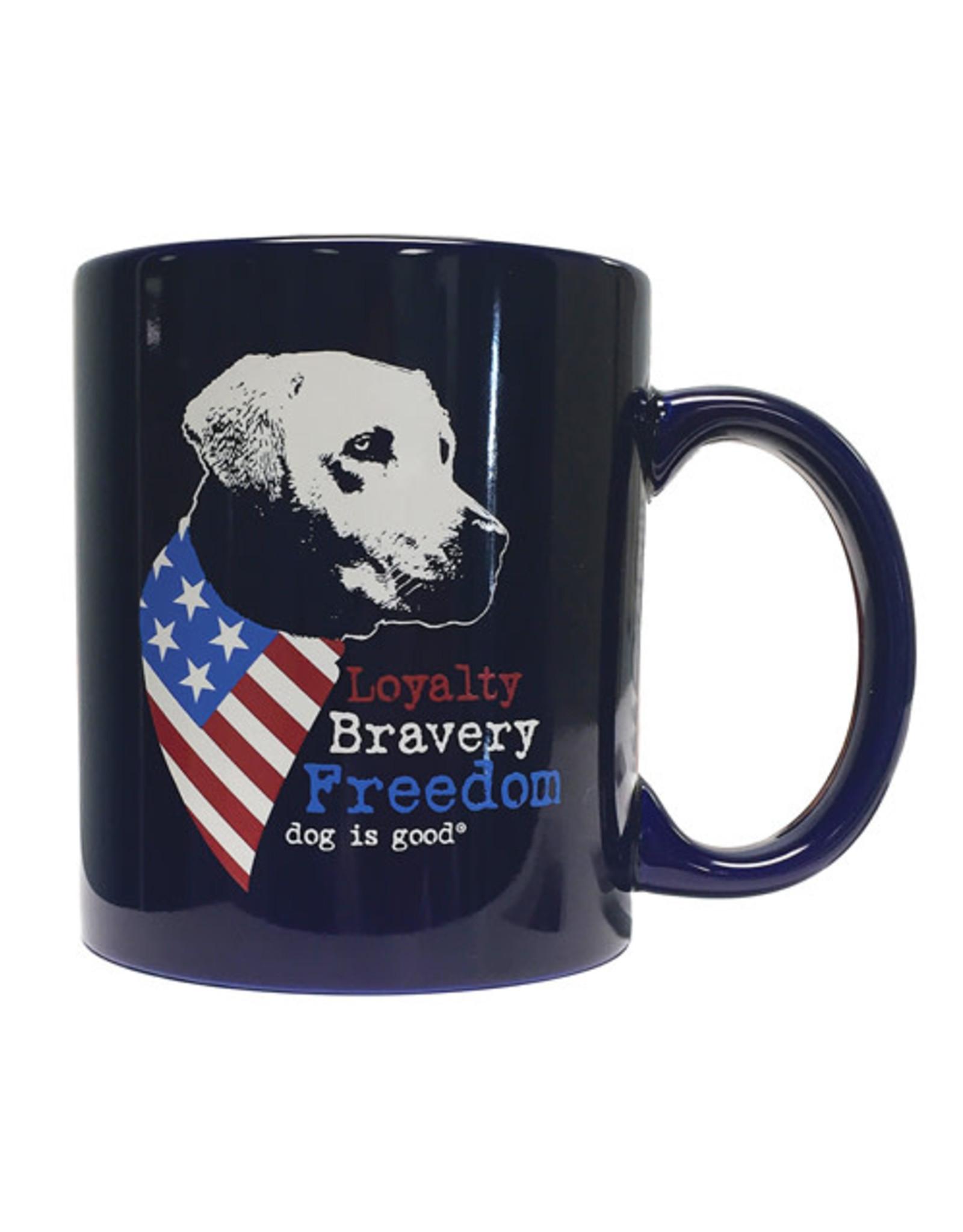 Dog Is Good Dog is Good Mug - Freedom Dog