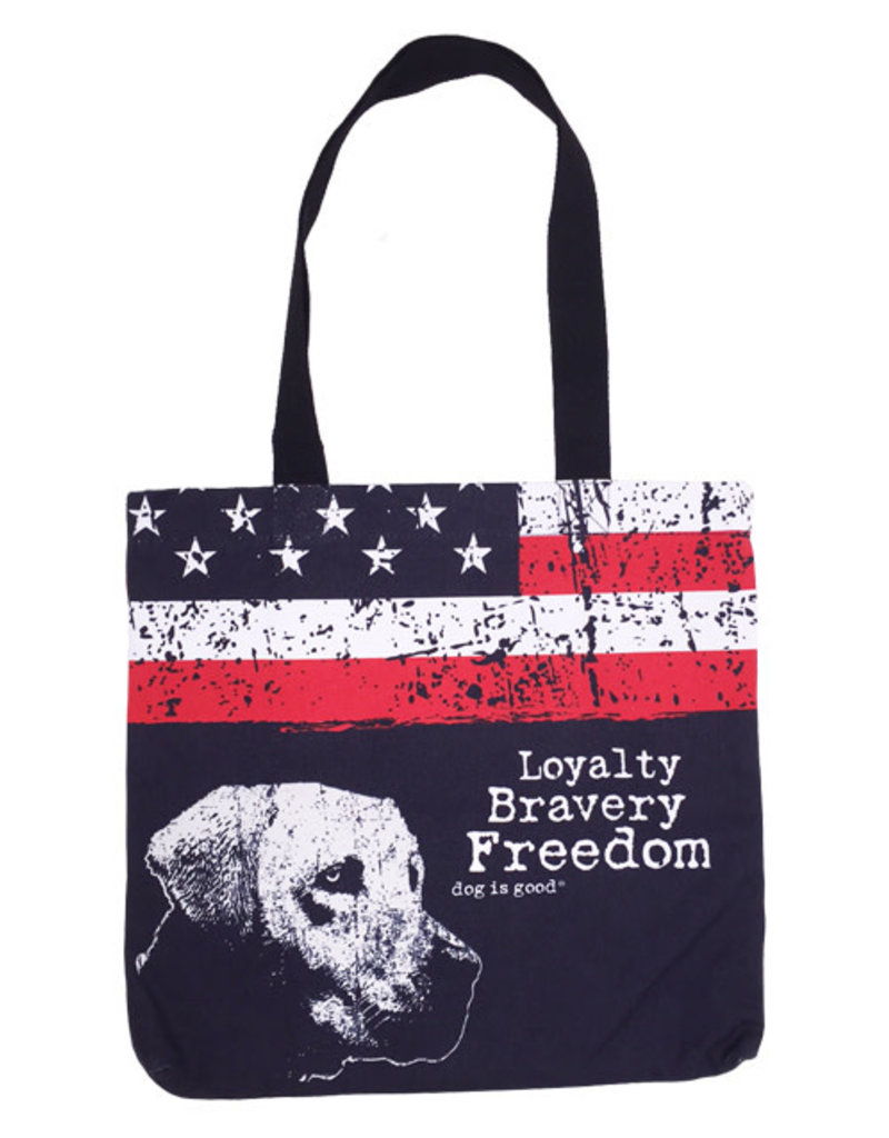 Dog Is Good Dog is Good Freedom Dog Tote