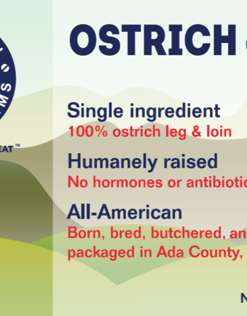 American Ostrich Farm Ostrich Jerky 4oz