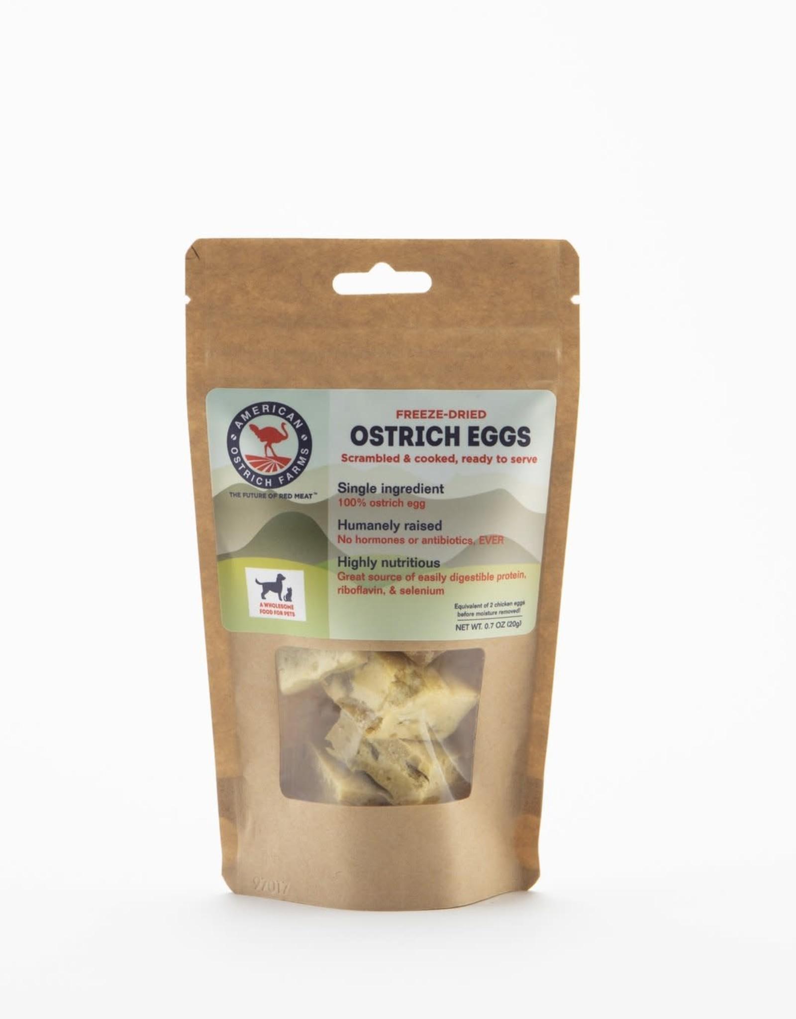 American Ostrich Farm Ostrich Freeze-Dried Eggs