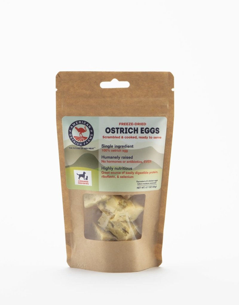 American Ostrich Farm Ostrich Freeze-Dried Eggs