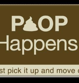 Dog Speak Dog Speak Refrigerator Magnet - Poop Happens