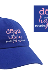 Dog Speak Ball Cap - Dogs Make Me Happy