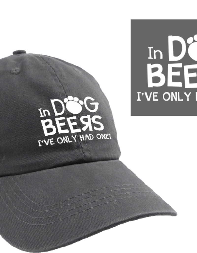 Dog Speak Ball Cap - In Dog Beers