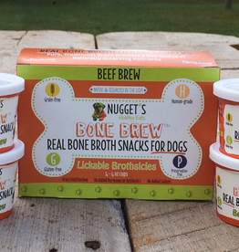 Nugget's Healthy Eats Nugget's Beef Bone Broth