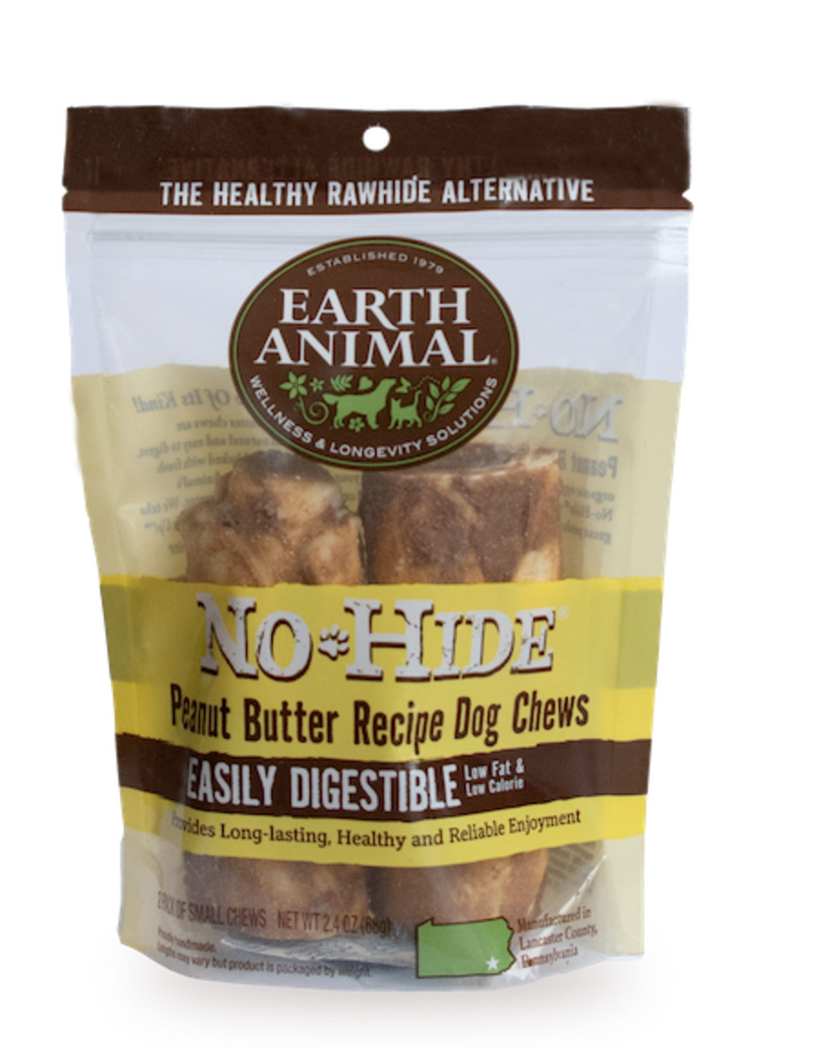 Earth Animal Earth Animal No-Hide Peanut Butter