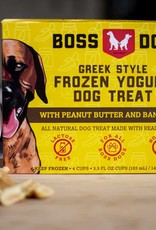 Boss Dog Boss Dog Frozen Yogurt Peanut Butter & Banana 3.5oz