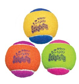 Kong SqueakAir Tennis Ball Birthday