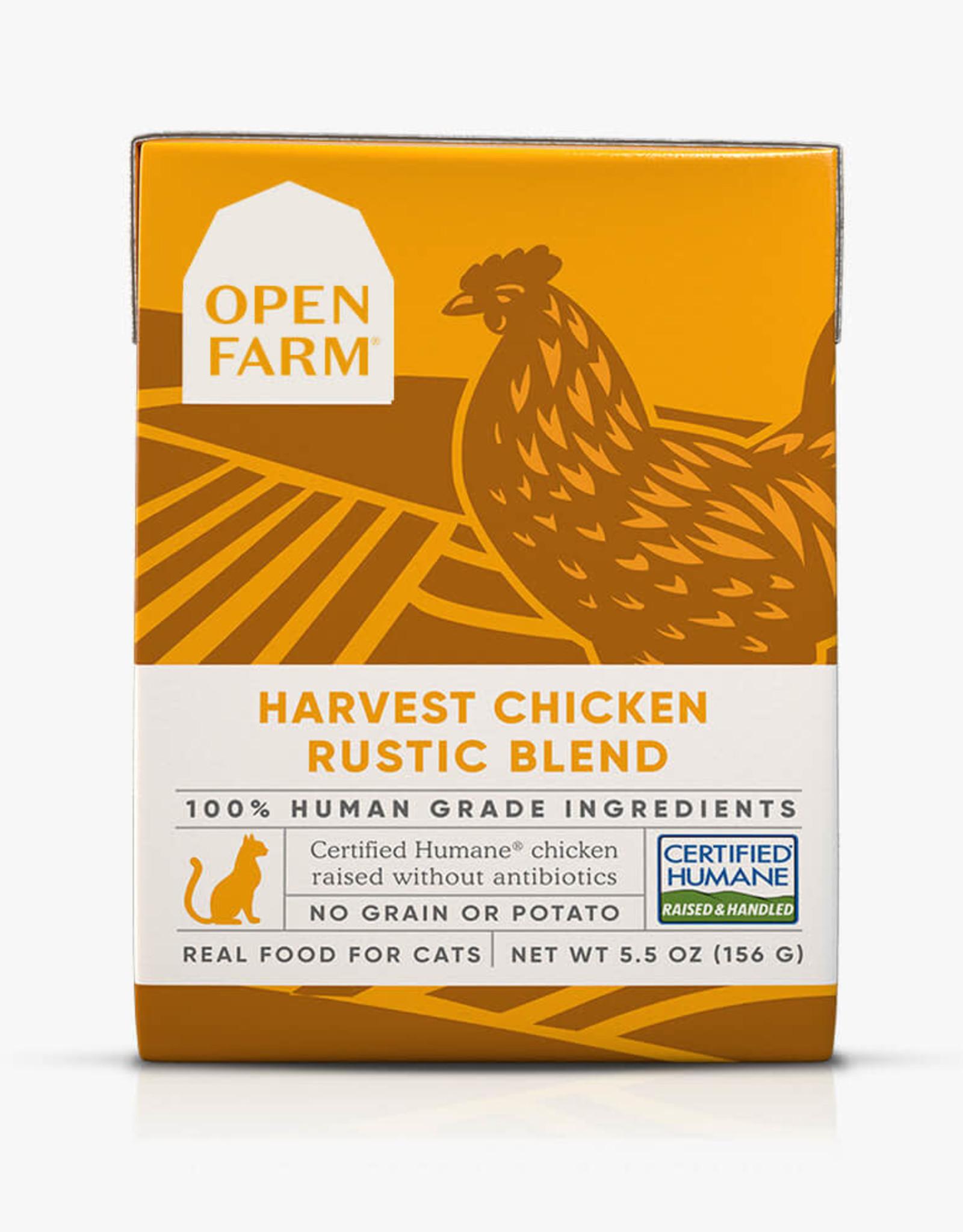 Open Farm Open Farm Harvest Chicken Rustic Blend 5.5oz