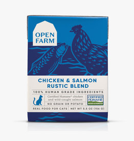Open Farm Open Farm Chicken & Salmon Rustic Blend 5.5oz
