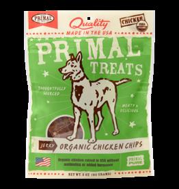 Primal Pet Food Primal Organic Chicken Chips Jerky