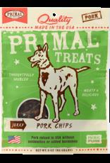 Plato Pet Treats Primal Pork Chips Jerky