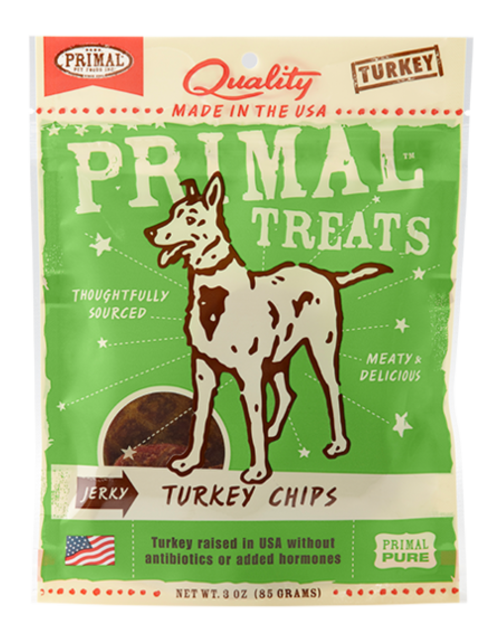 Primal Pet Food Primal Turkey Chips Jerky