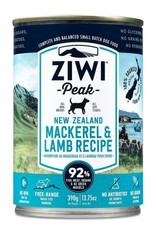ZiwiPeak ZiwiPeak Mackerel & Lamb For Dogs 13.75oz